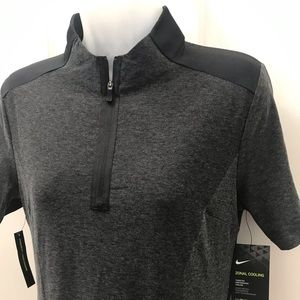 NEW wTag-NIKE Golf Gray Zonal Cooling Dress S